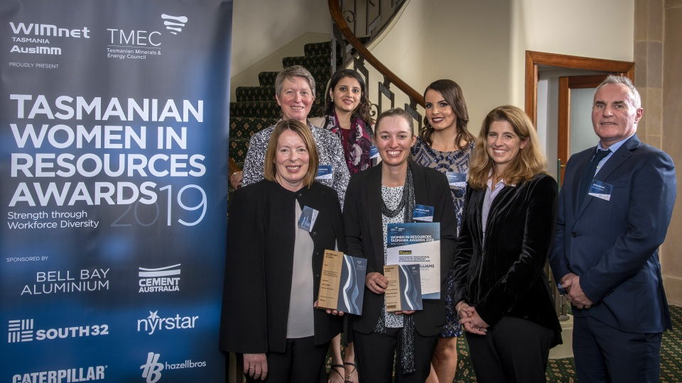Winners Announced at Women In Resources Tasmania Awards